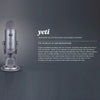 Blue Yeti 3 Capsule USB Microphone - Cool Grey