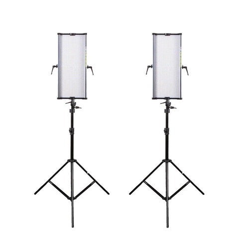 Boling 2 x BL-2250P LED Video & Photography Lighting Kit