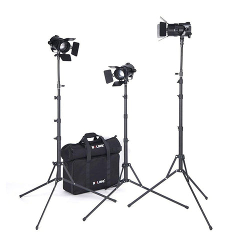 Boling BL-50C 50W Bi-Colour 2500K-5800K LED Continuous Lighting Kit