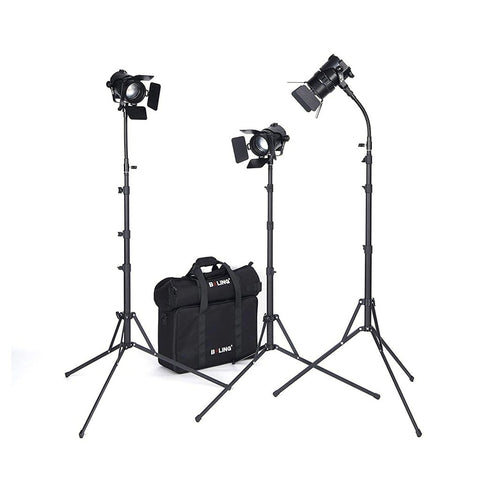Boling BL-50C 50W Bi-Colour 2500K-5800K LED Continuous Lighting Kit CCC (DEMO STOCK)