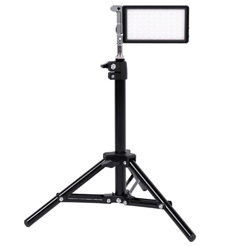 Boling BL-P1 Desktop Video Setup with RGB Light & Desk Stand