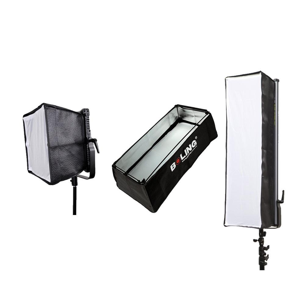 Boling LED Panel Softbox and Grid for 2220P 2250P 2280P Panels