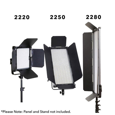 Boling LED Panel Barndoor for 2280P Panels