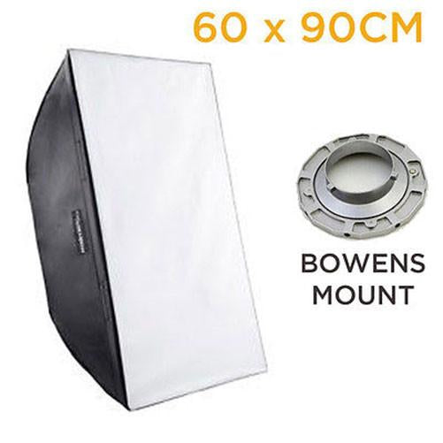 Hypop Rectangular Softbox With Bowens Mount Photo Photography (60 x 90CM)