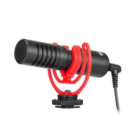 Boya BY-MM1+ Super-Cardiod Shotgun Microphone for Smartphones and DSLR's