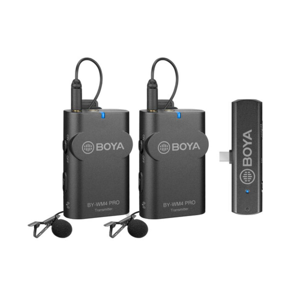 Boya BY-WM4 Pro-K6 Dual Channel Wireless Microphone for Android Type-C Devices