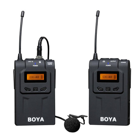Boya BY-WM6 Wireless 2.4GHz Lapel Lavalier Microphone