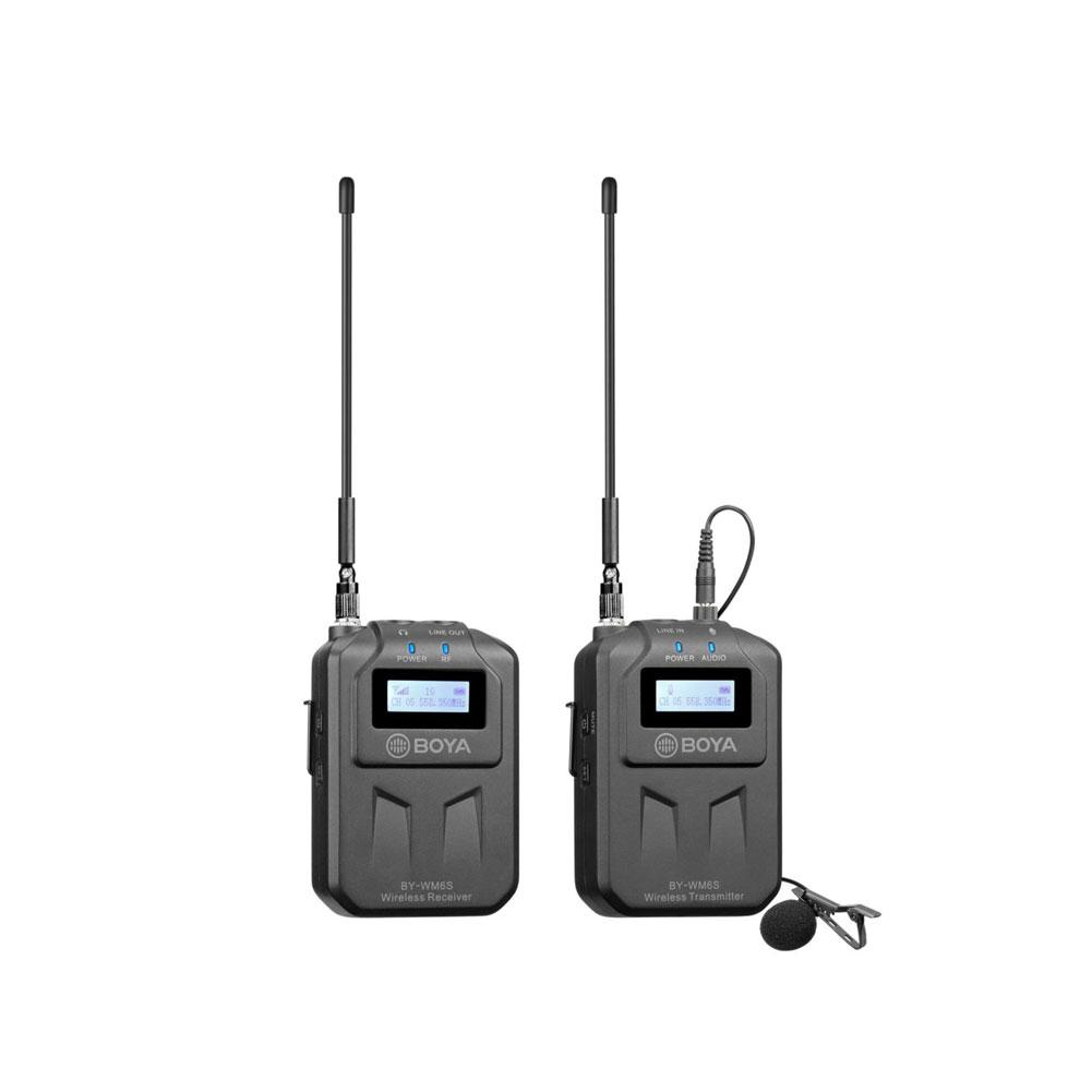 Boya BY-WM6S UHF Wireless Microphone System