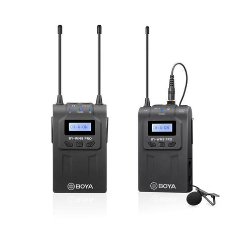 Boya BY-WM8 Pro-K1 UHF Wireless Lavalier Microphone System