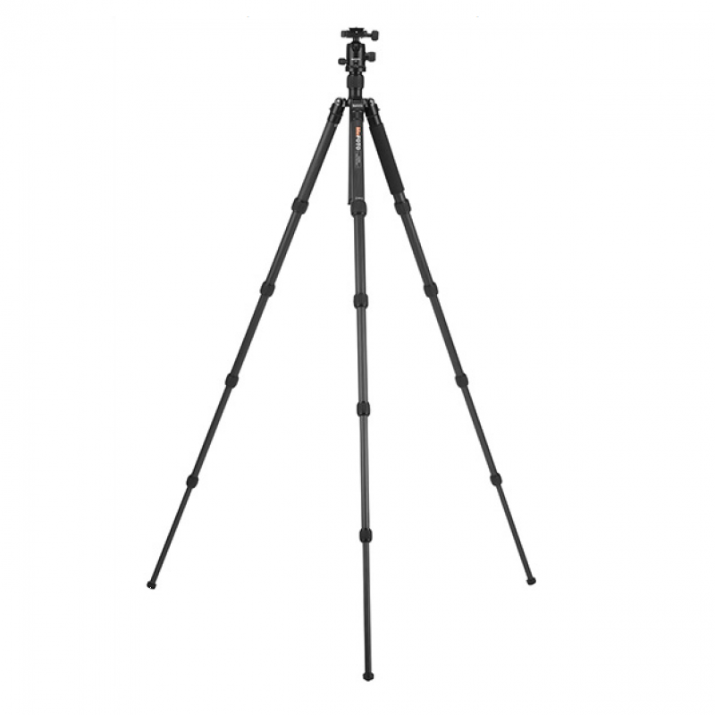 MeFOTO GlobeTrotter Carbon Fibre Travel Tripod Kit C2350Q2 - Black