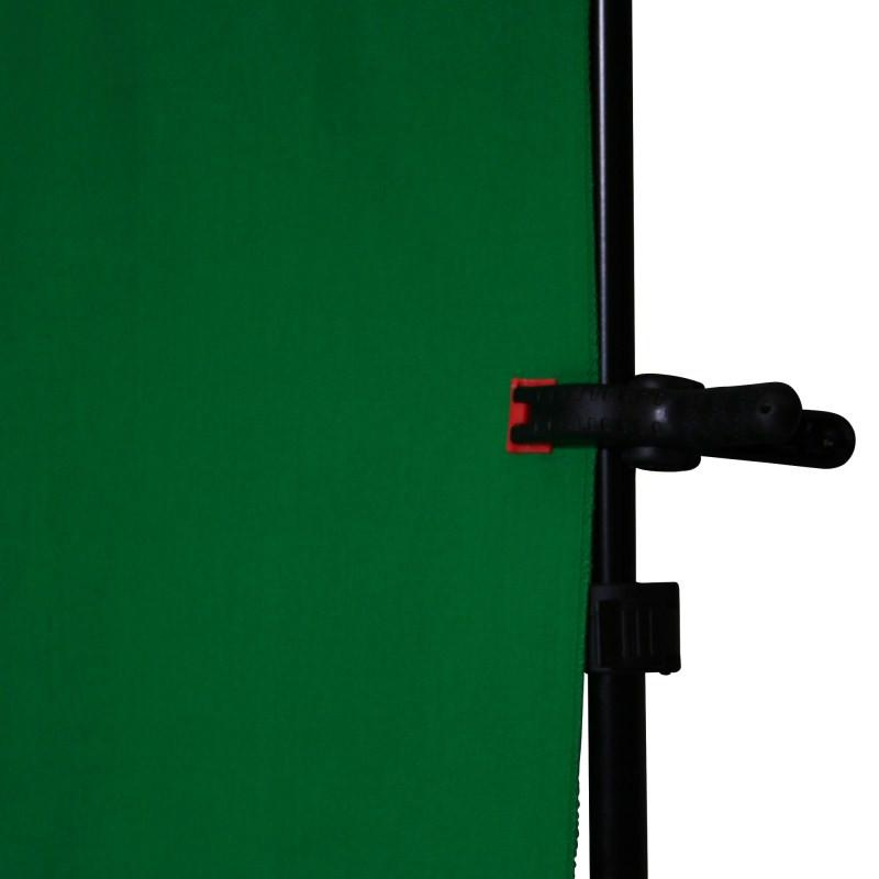 Hypop Chroma Key Green Screen 3M x 3M Cotton Muslin Background
