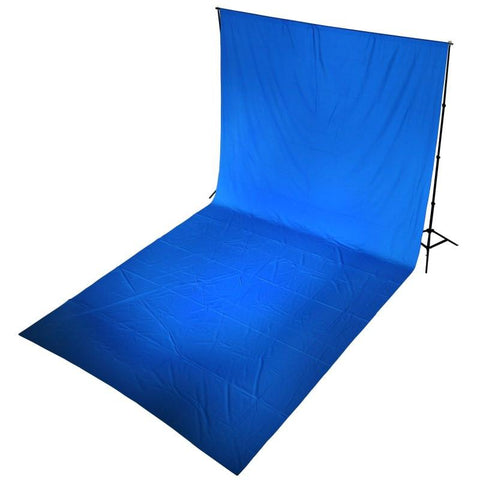 Hypop Chroma Key Green Screen 1.8M x 2.7M Cotton Muslin Background