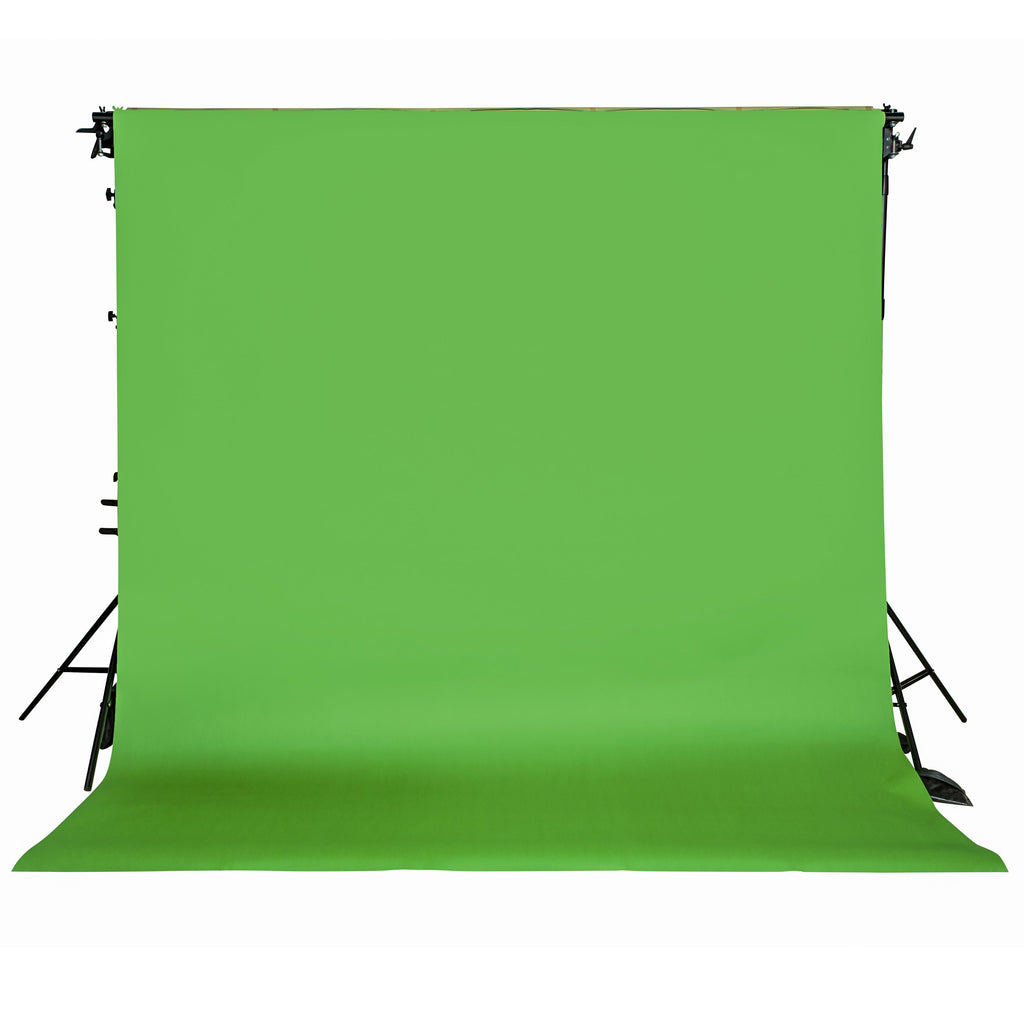 Spectrum Non-Reflective Video Paper Roll Backdrop (2.7 x 10M) - Chroma Key Green