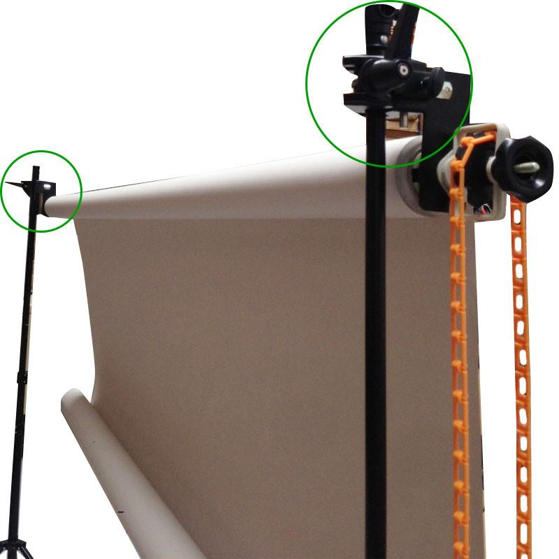Hypop Super Clamp Converter for Backdrop Support Roller Ceiling System to Light Stand