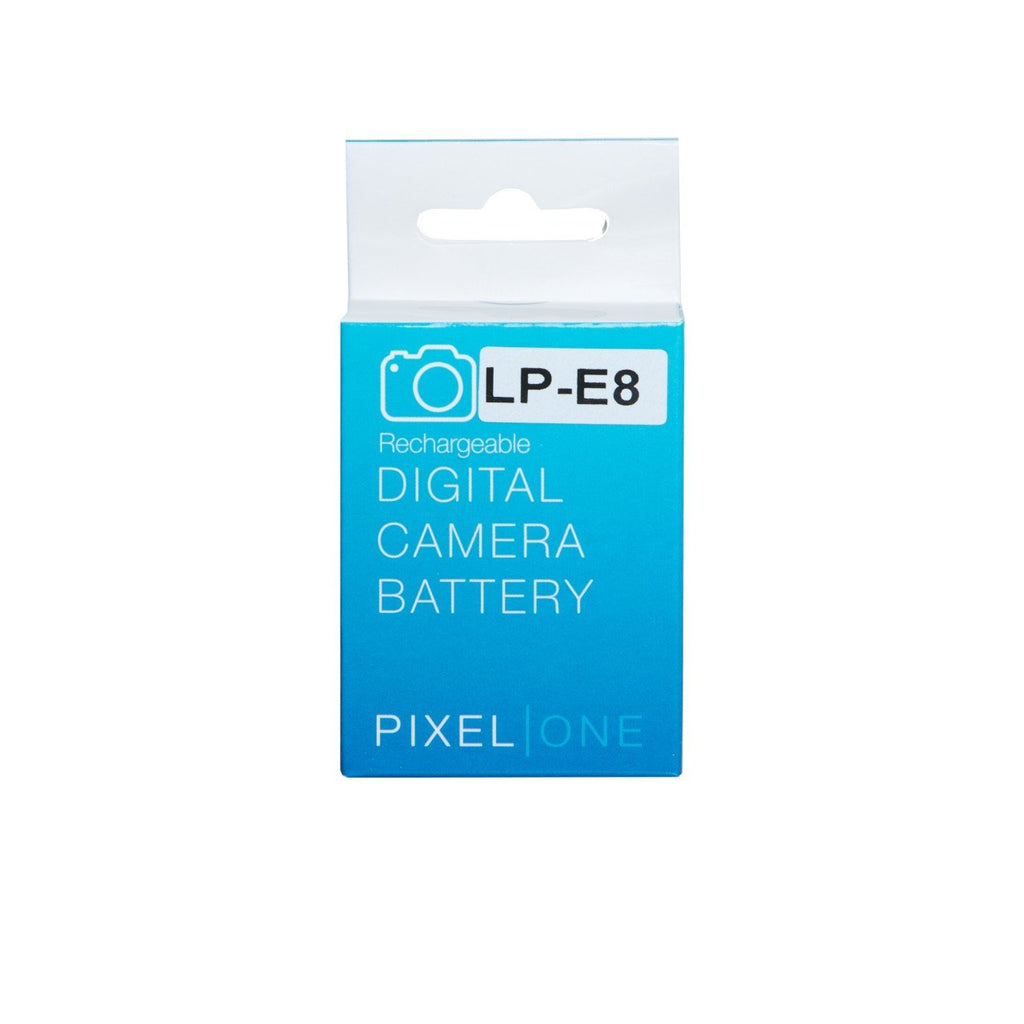 Pixel One Li Ion Battery Replacement For Canon Lp E8 Hypop Lithium