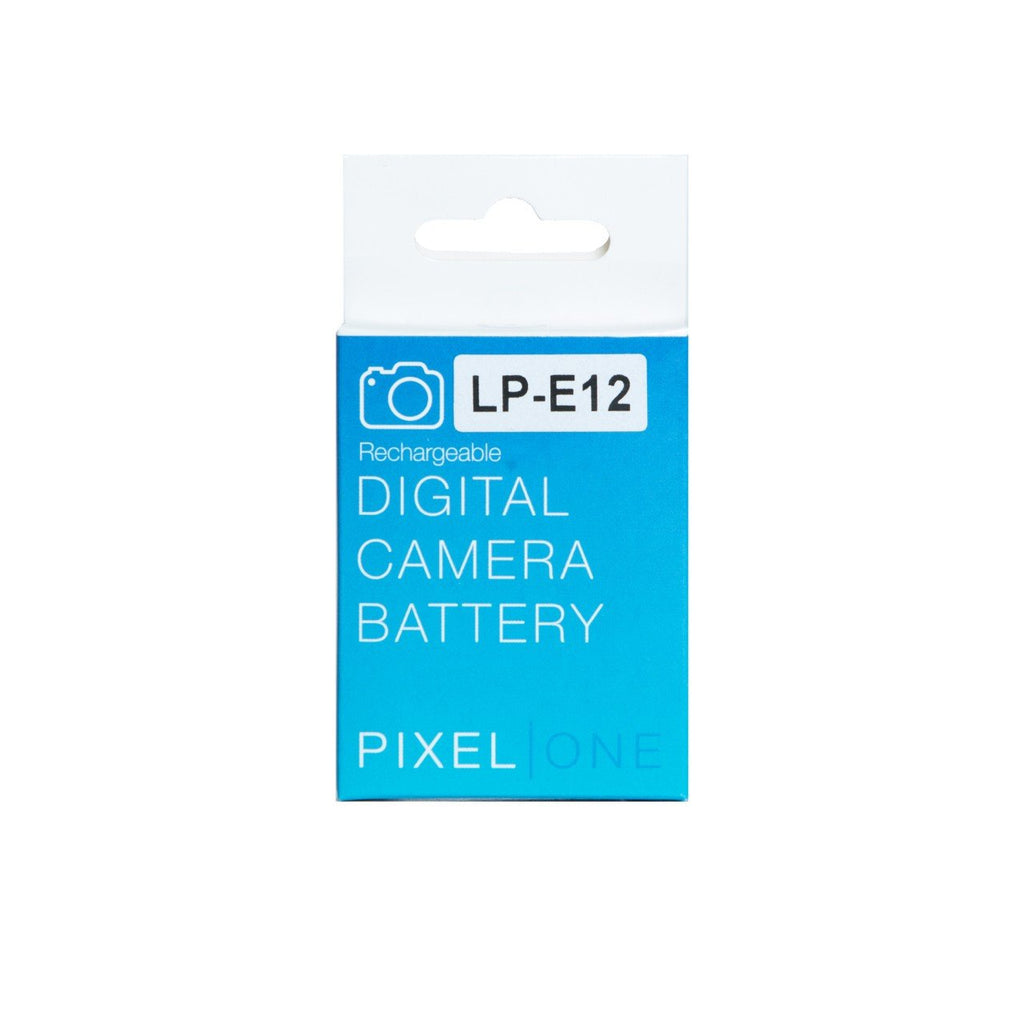 Pixel One Li-ion Battery Replacement for Canon LP-E12