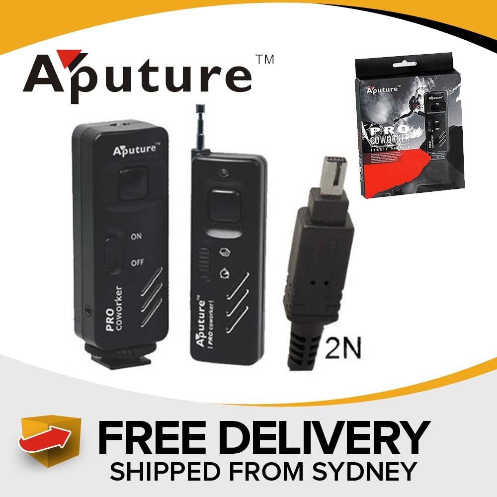 Aputure Pro Coworker Wireless Remote Shutter 3L For Olympus exclude