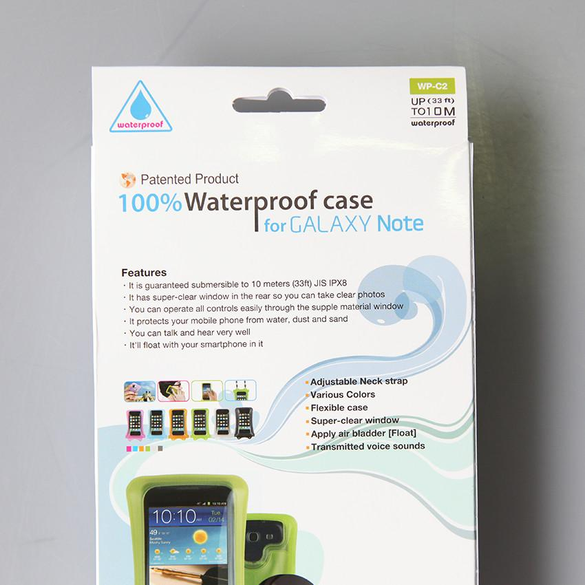 DiCAPac Waterproof WP-C2 iPhone 6 6 Plus Galaxy Note Smartphone Case
