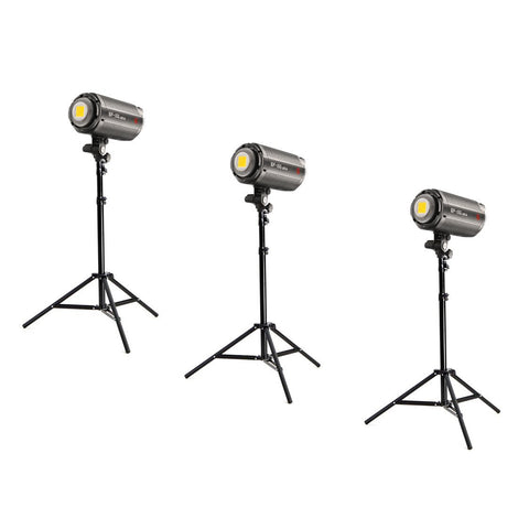 Jinbei 3 x EF150 (450W) Continuous LED Photo & Video Lighting Kit