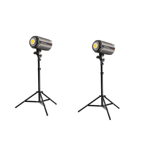 Jinbei 2 x EF150 (300W) Continuous LED Photo & Video Lighting Kit