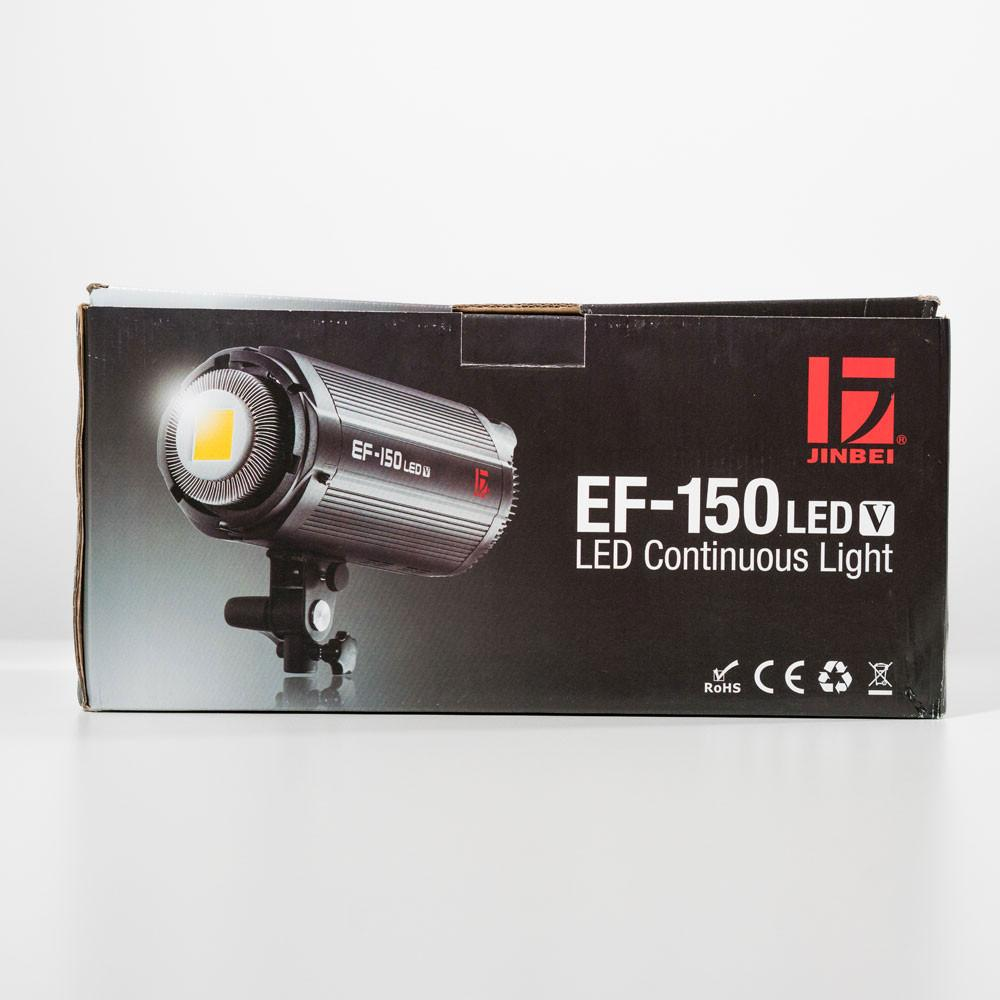 Jinbei EF150 150W Continuous LED Softball Portrait Flash Lighting Kit
