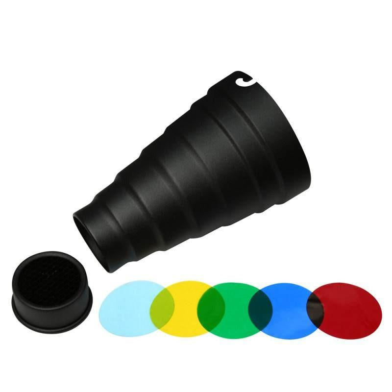 Hypop Snoots For Elinchrom,honeycomb attached (Standard Size)