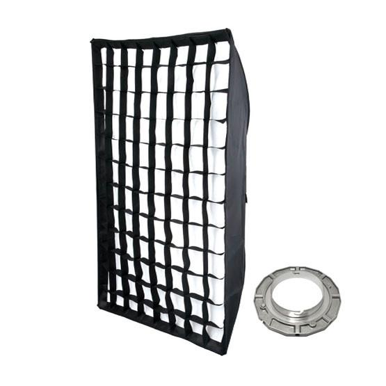 Hypop Rectangular Soft Box With Honeycomb Grid (Bowens) (80cm x 120cm)