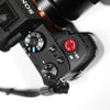 Gariz Sticker Type Soft Button Red XA-SBA6 for Sony Alpha Leica FUJI OM-D LUMIX