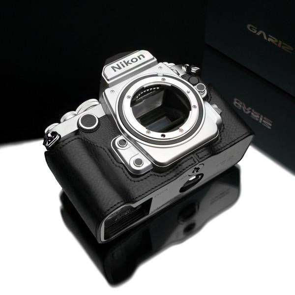 Gariz XS-CHDFBK Black Leather Camera Half Case for Nikon DF exclude