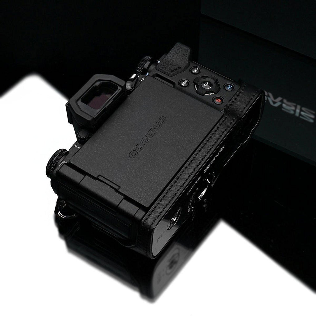 Gariz XS-EM5IIABK Camera Half Case Black for Olympus E-M5II Mark II