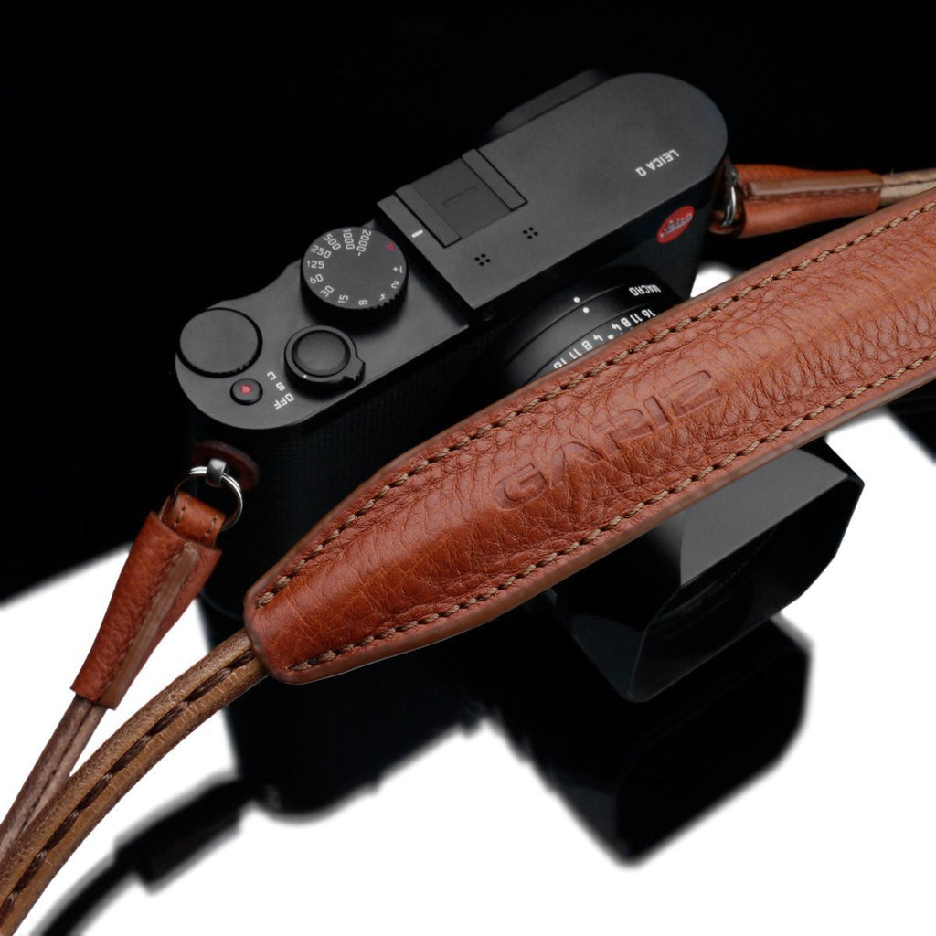 Gariz XS-CSNLCM Camel Large Size Leather Camera Neck & Shoulder Strap for Mirrorless