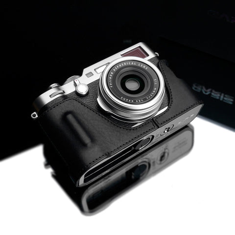 Gariz Screw type Soft Button Silver XA-SBA2S for Sony RX1 (Black Thread)