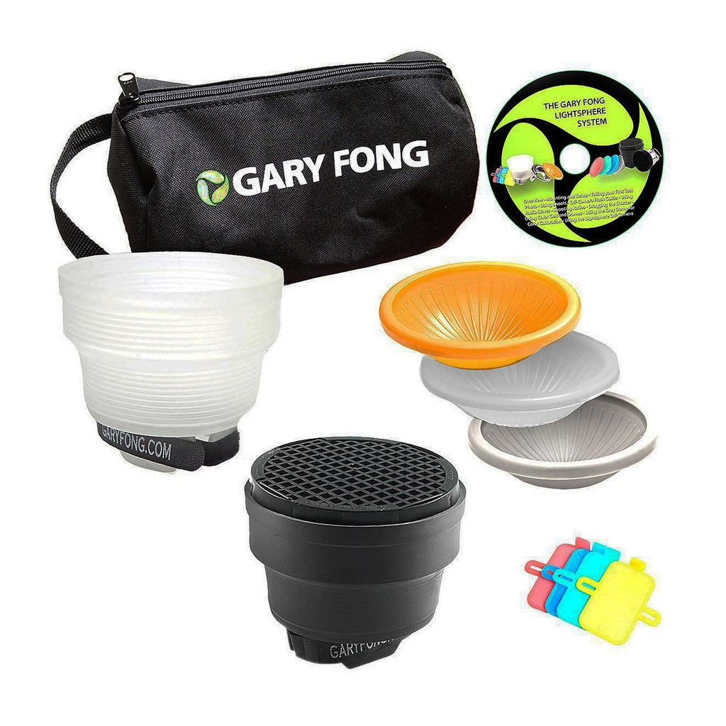 Gary Fong Lightsphere® Collapsible Fashion and Commercial Lighting Kit