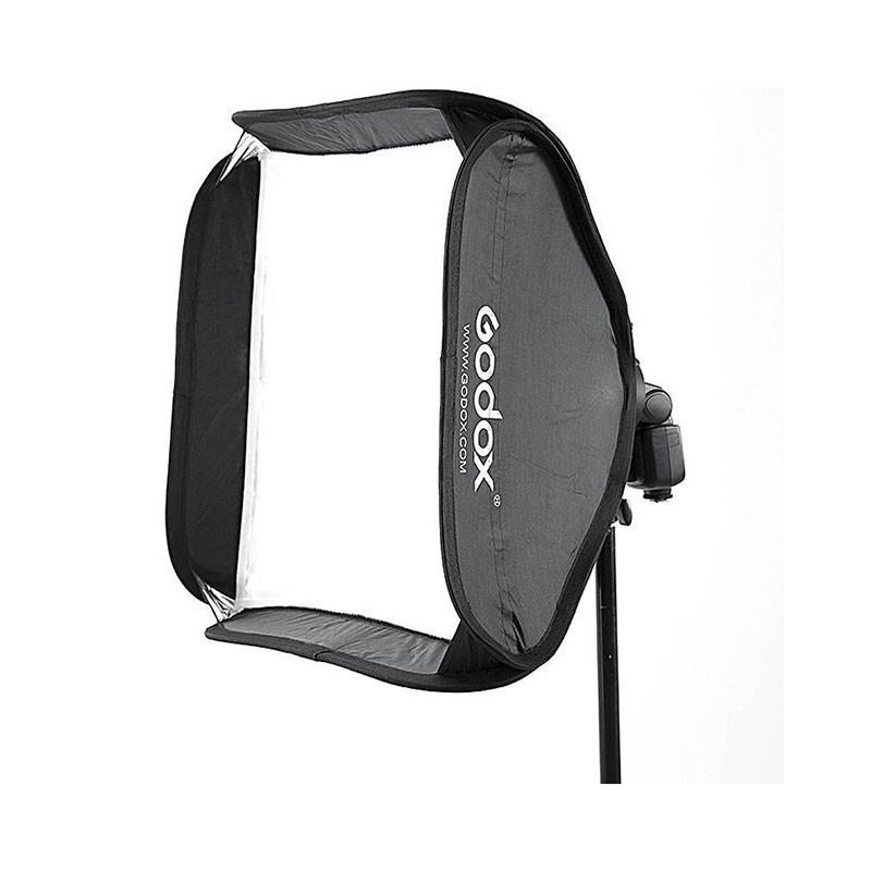 Godox 60 x 60cm Tulip Square Collapsible Softbox with S-Type Bracket and Case Set