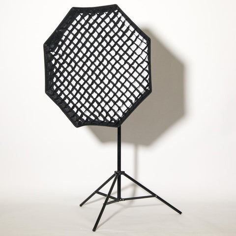 "Bowens 6"" Silver 120° Wide Angle Reflector Dish with Umbrella Mount"
