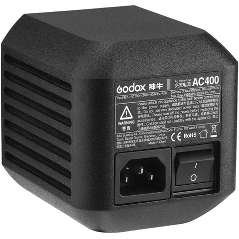 Godox AC400 AC Power Unit Adapter for AD400Pro