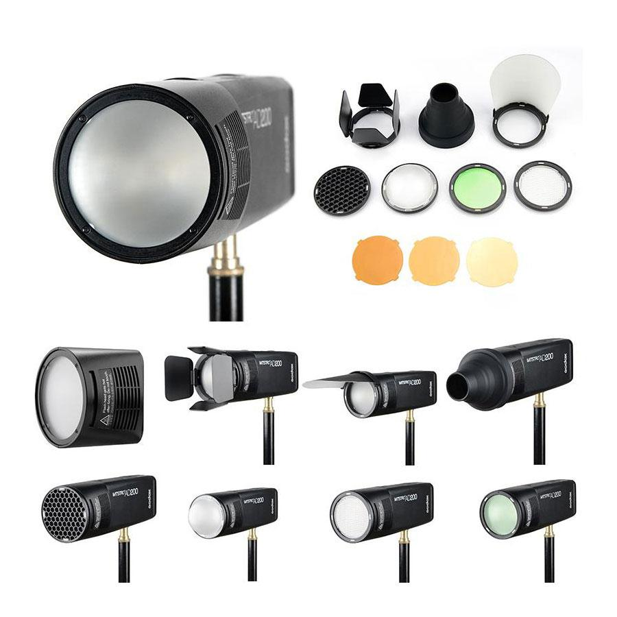 Godox AD200 200W Flash Pro Round Head Extension Kit With Stand