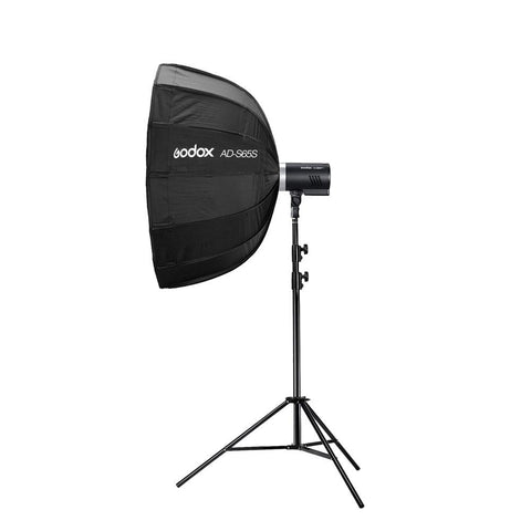 Godox AD300Pro 300W Portable Flash Strobe Single Light Kit (Flash, Stand, Softbox and Trigger)