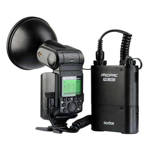 Godox Witstro AD360II-N 300W Cheetah Bare Bulb HSS Flash with PB960 Battery Kit