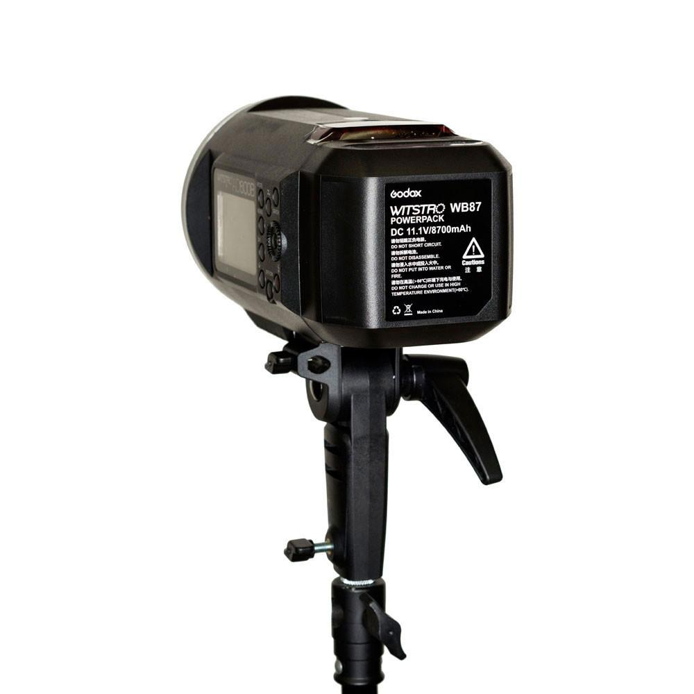 Godox 3 x AD600BM Witstro 2.4GHz Manual Strobe Light & Stand Kit with X1 trigger (Bowens)