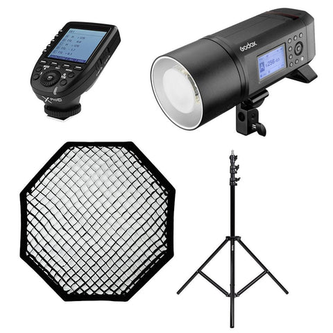 Godox AD400Pro Witstro 400W Cordless Portable Outdoor TTL Flash Strobe