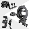 Godox S-FA Universal Four Speedlite Flash Adapter Hot Shoe Mount For S-mount