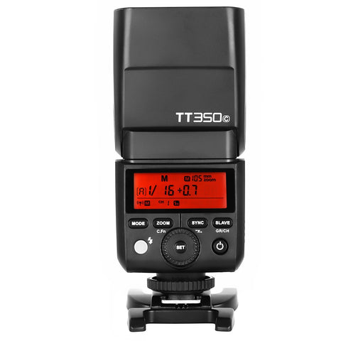 Godox TT350C 2.4G TTL HSS Speedlite Flash for Camera
