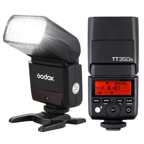 Godox TT350N 2.4G TTL HSS Speedlite Flash for Nikon