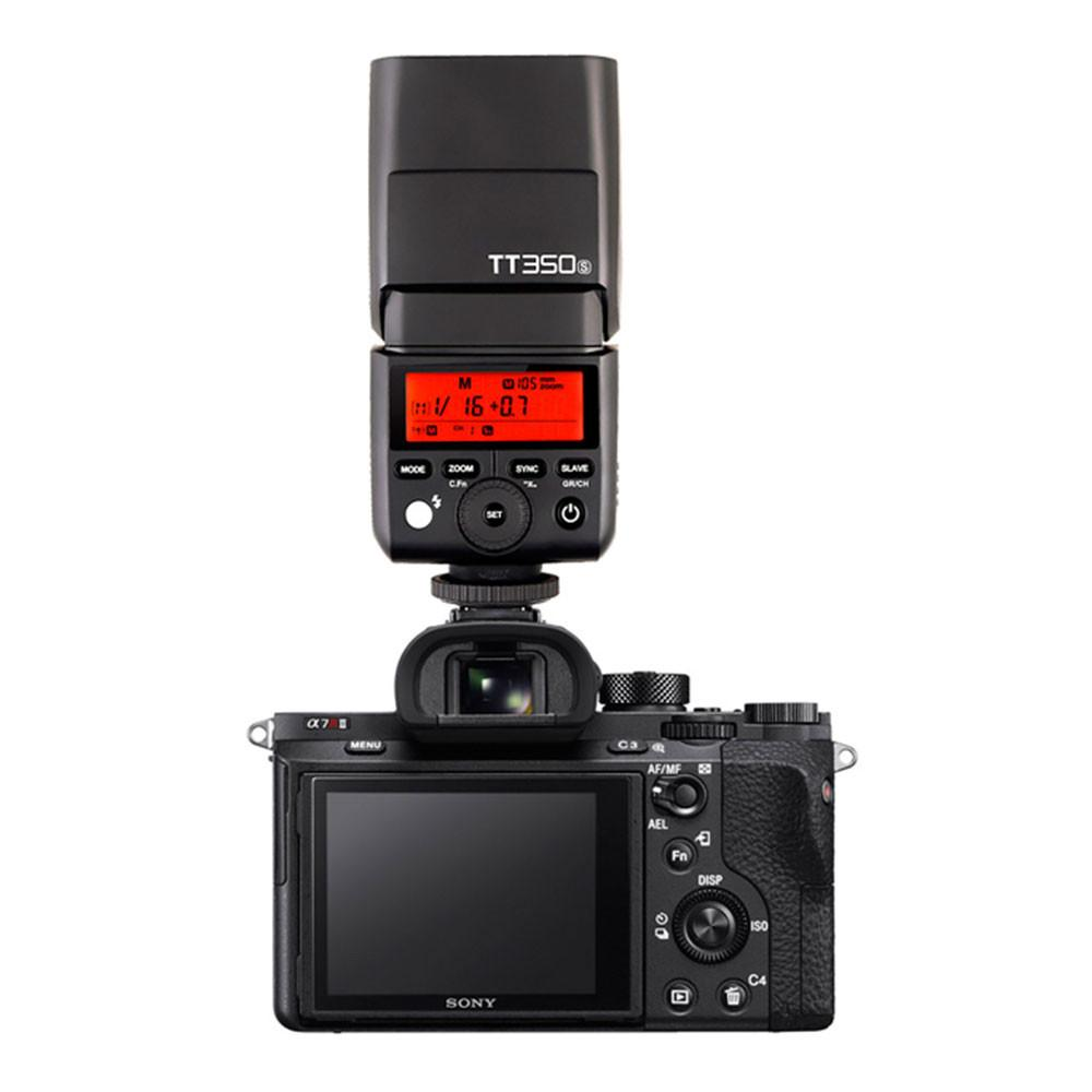 Godox Tt350s 24g Ttl Hss Speedlite Flash For Sony Hypop Tt685s Untuk