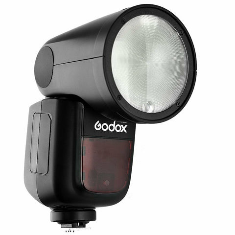 Godox V1-O Round Head Li-ion TTL HSS Master Speedlight Flash for Olympus and Panasonic