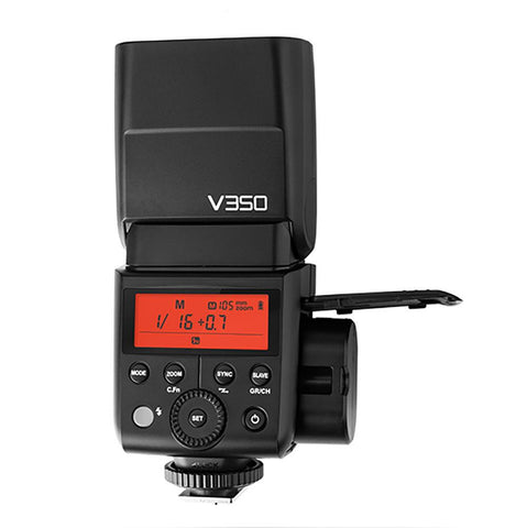Godox V350N 2.4G TTL HSS Speedlite Flash for Nikon with Li-ion Battery