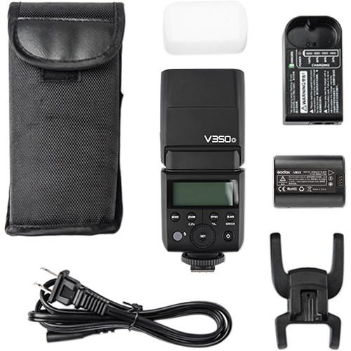 Godox V350O 2.4G TTL HSS Speedlite Flash for Olympus with Li-ion Battery