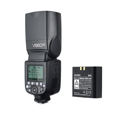 Godox Ving V860N II i-TTL HSS Master Speedlite Flash for Nikon