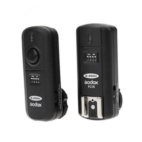 Godox FC-16 Wireless (2.4GHZ) Flash Trigger and Receiver Set for Nikon